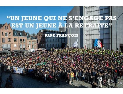 Le Pape s'adresse aux jeunes …