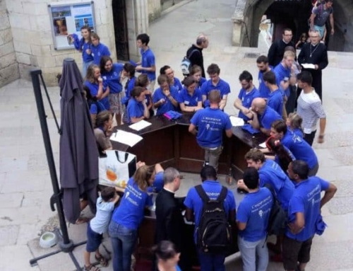 Rejoindre les jeunes bénévoles  à Rocamadour