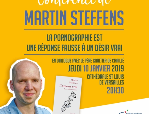 Conférence de Martin Steffens, en dialogue avec père Gaultier de Chaillé