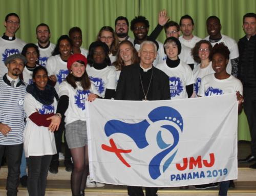 Suivre les JMJistes du diocèse de Versailles – le grand départ – Panama City