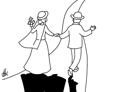 Annoncer la bonne nouvelle du mariage ! Aux jeunes autour de nous …